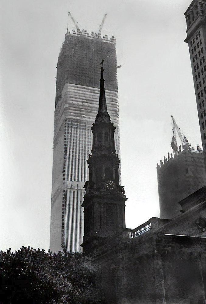 Světové obchodní centrum vznikala v letech 1966-73
