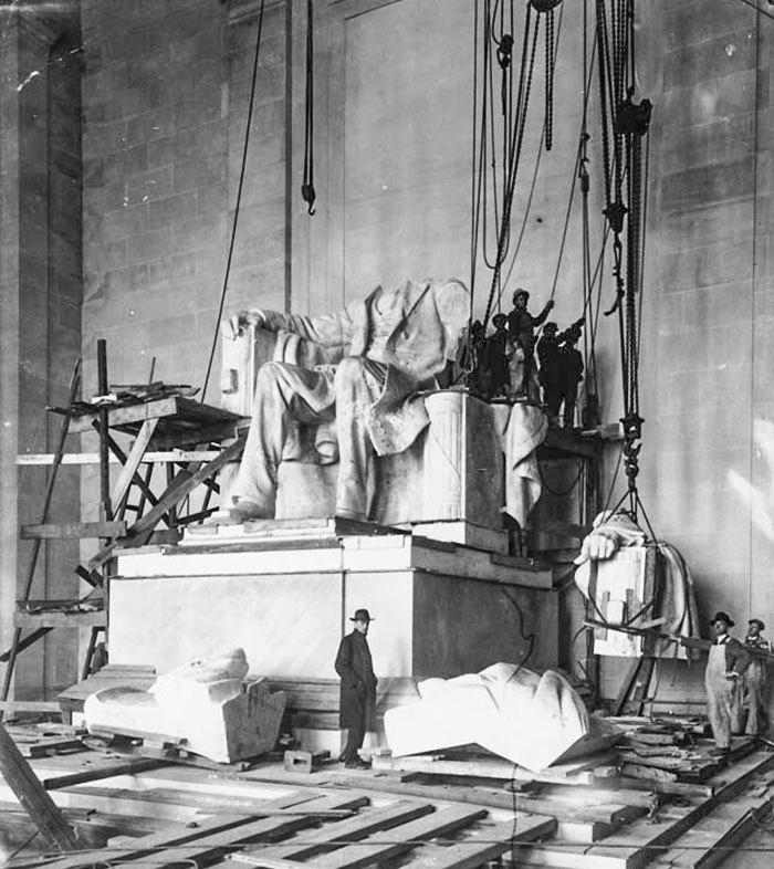 Lincolnův památník ve Washingtonu vznikl v letech 1914-22