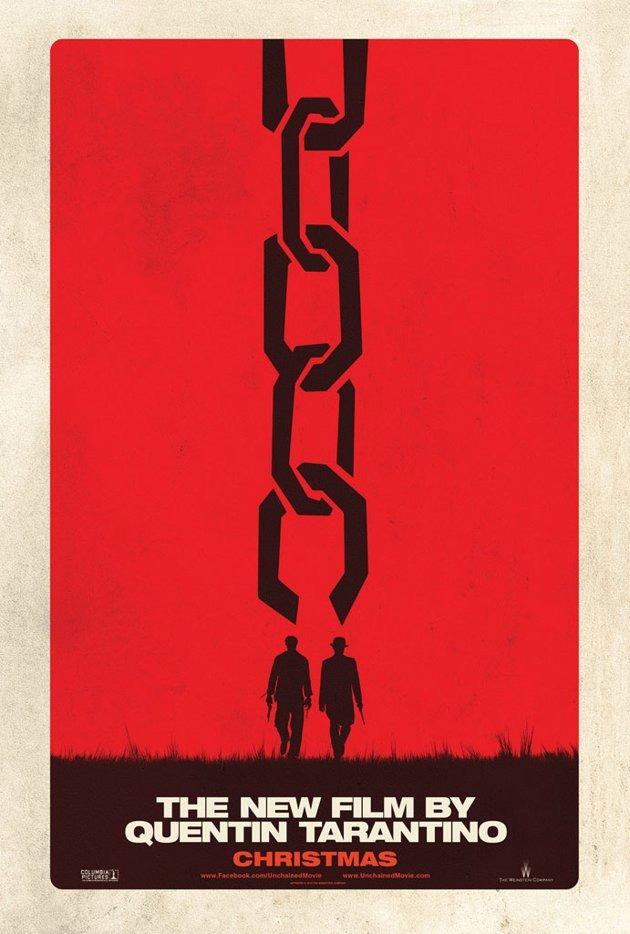 Plakát k filmu Nespoutaný Django.