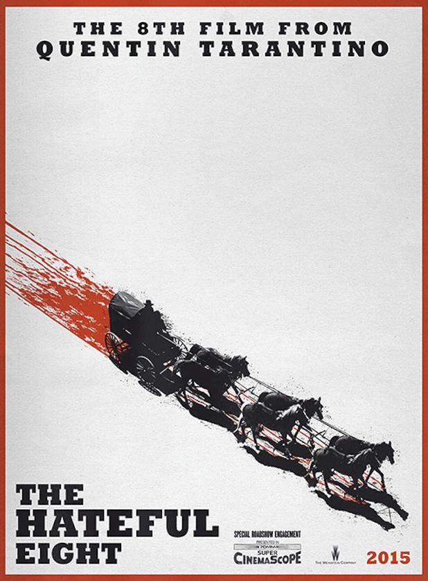 Plakát k filmu Osm hrozných.