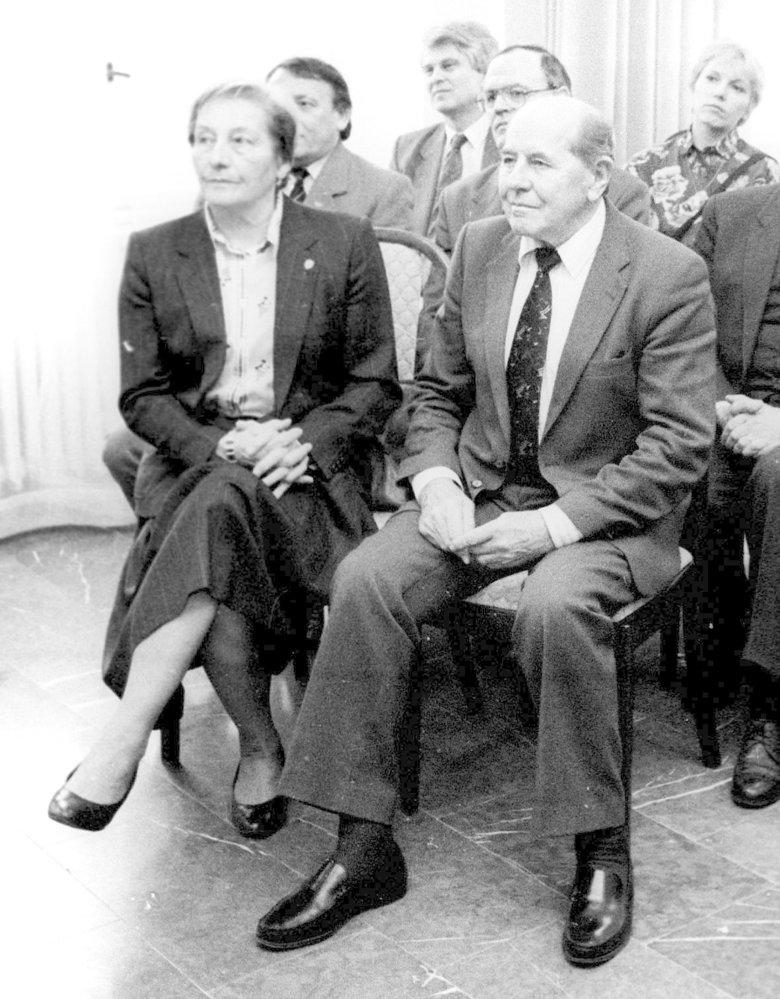 Manželé Dana a Emil Zátopkovi