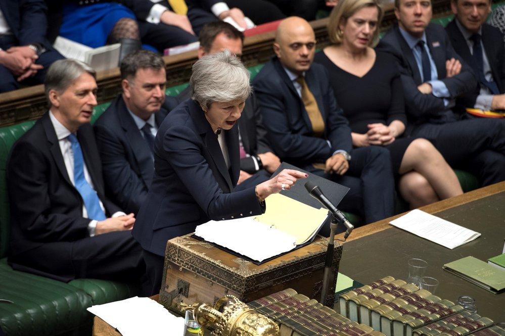 Theresa Mayová oznámila, že pokud budou lídři konečně souhlasit s dohodou, odstoupí