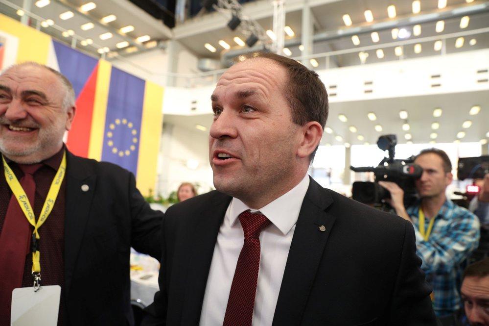 Sjezd KDU-ČSL: Novým předsedou lidovců je Marek Výborný (29. 3. 2019)