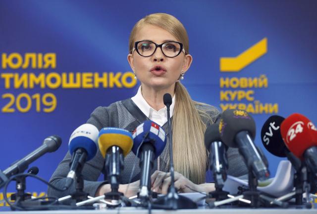 Julija Tymošenková do finále prezidentského klání nepostoupila