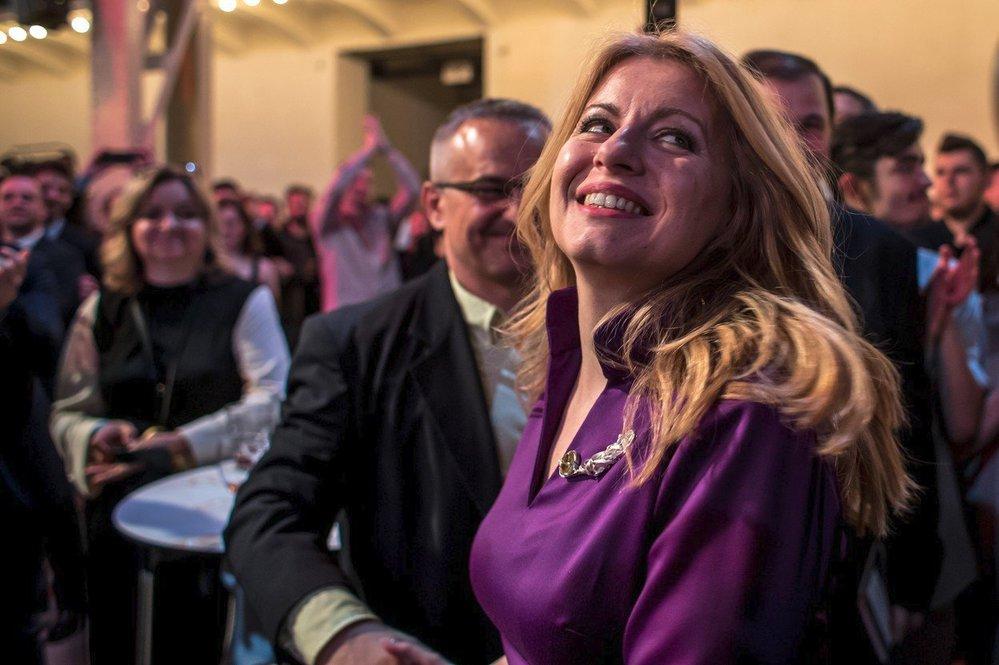 Zuzana Čaputová pro mnohé symbolizuje naději v nové, lepší zítřky