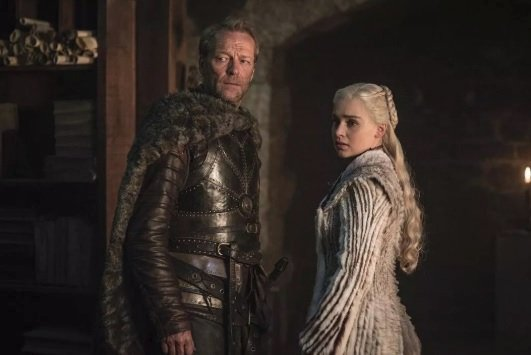 Daenerys Targaryen a Jorah Mormont