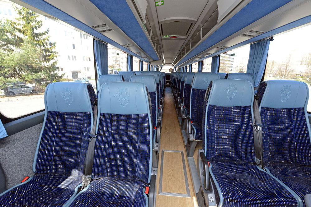 Scania oficiálním autobusem českého hokeje
