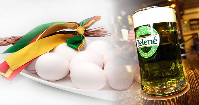 Na Zelený pátek zelené pivo? A zlevněná vejce jsou před Velikonocemi nejdražší za 7 let