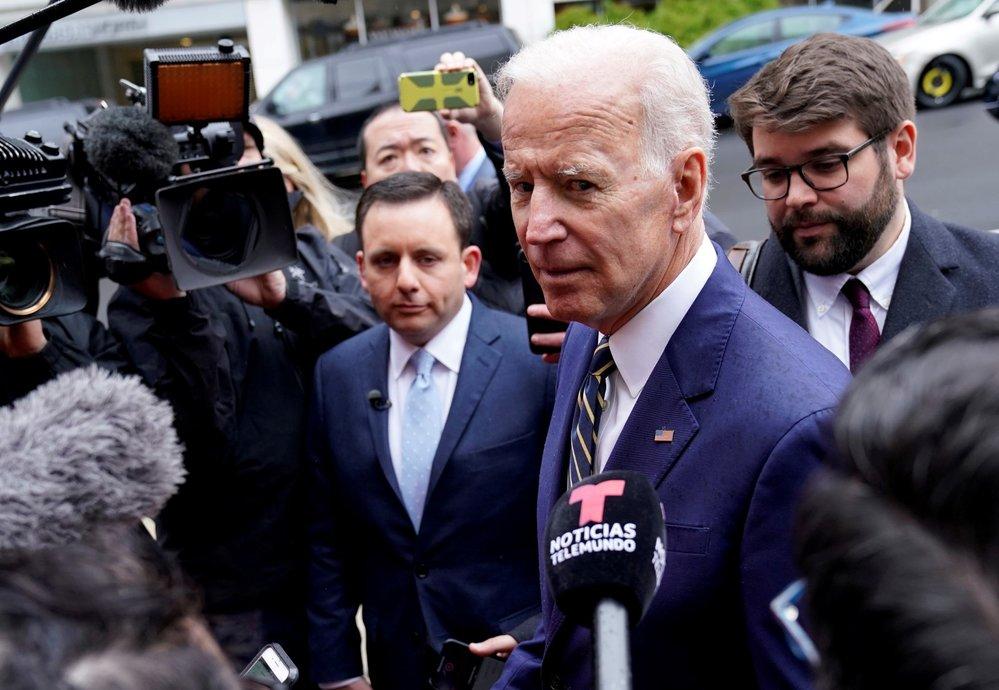 Bývalý viceprezident Joe Biden vstoupil do boje o Bílý dům