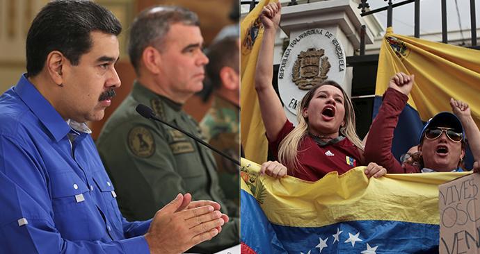 Venezuelský prezident Maduro byl připraven prchnout ze země, tvrdí USA