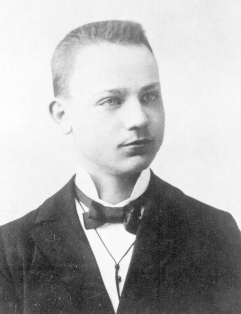 Milan Rastislav Štefánik jako student.