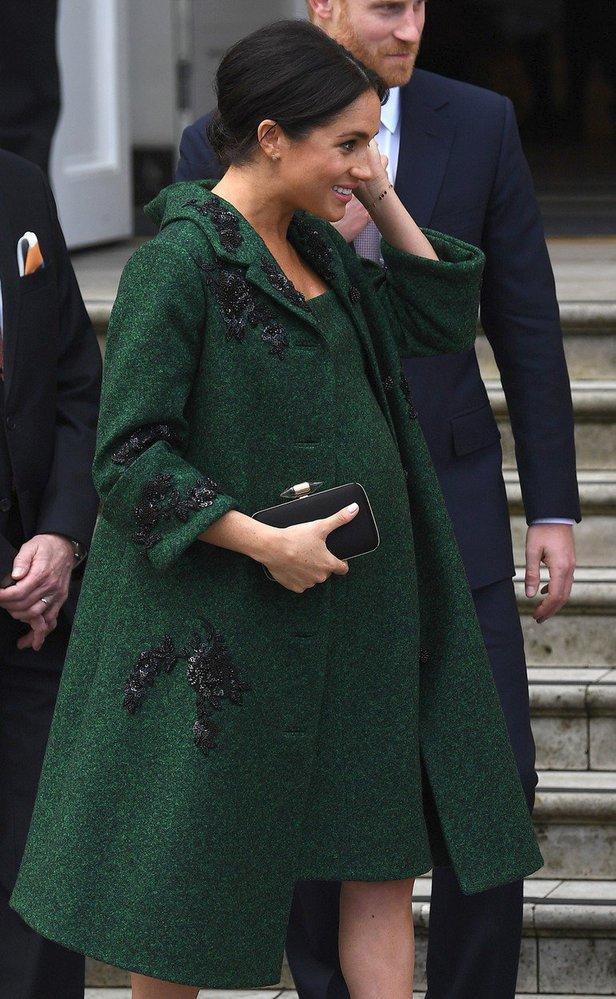 Těhotná vévodkyně Meghan