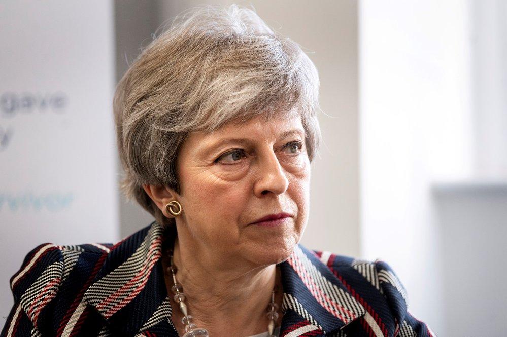 Britská ministerská předsedkyně Theresa Mayová
