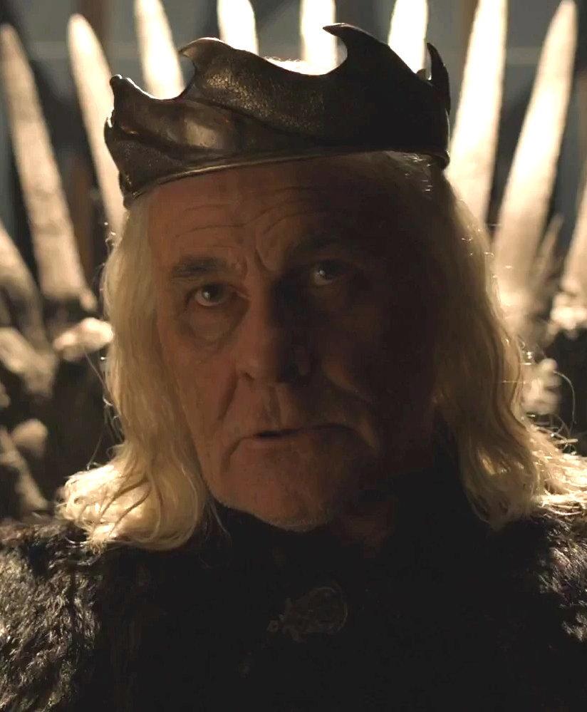 Šílený král ze seriálu
