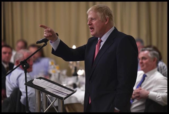 Boris Johnson oznámil, že chce do čela Konzervativní strany po Therese Mayové