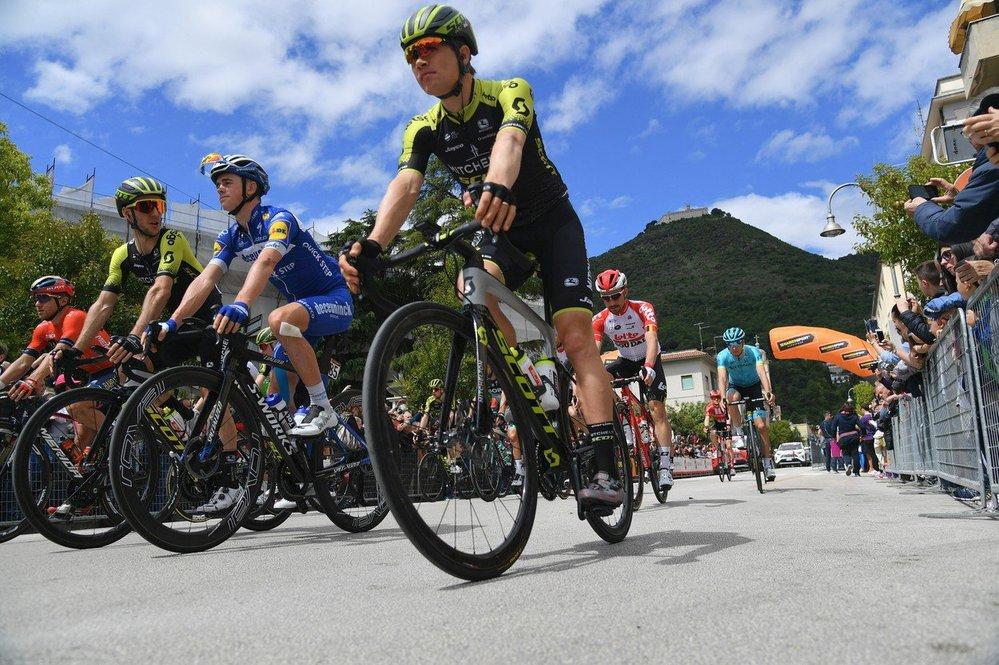 Giro d'Italia má nového lídra (ilustrační foto)