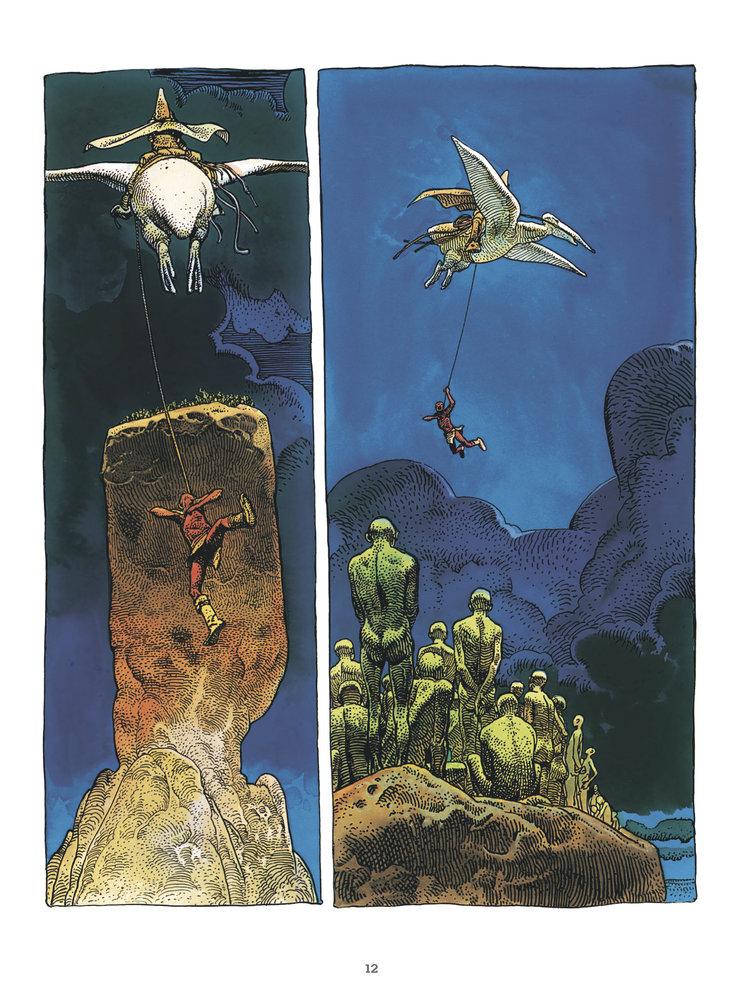 Arzach je dílo, které svým stylem inspirovalo komiksové i nekomiksové tvůrce – od Federika Felliniho, Ridleyho Scotta, Hayao Miyazakiho až po našeho Káju Saudka.