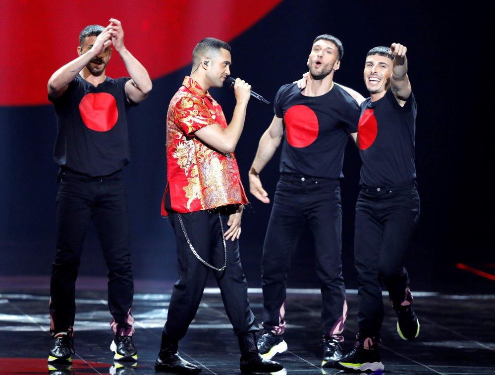 Finále Eurovize 2019: Mahmood z Itálie
