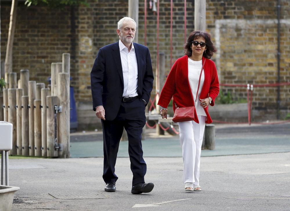 Eurovolby 2019: Lídr opozičních labouristů Jeremy Corbyn v Londýně