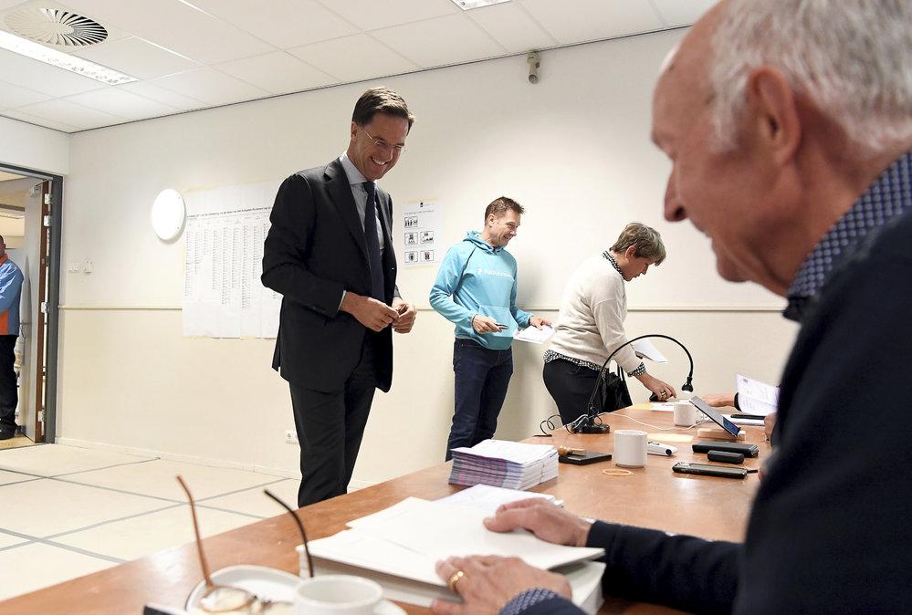 Nizozemský premiér Mark Rutte.