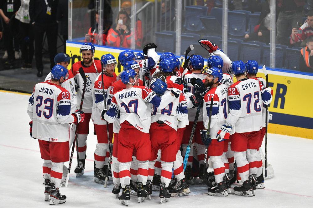 aab2a76cc86 Semifinále MS hokej 2019: Česko - Kanada, program play off, pavouk | Reflex .cz