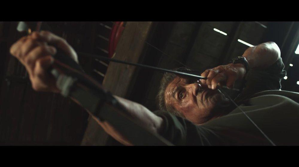 Záběry z traileru na film Rambo: Poslední krev (Rambo: Last Blood).