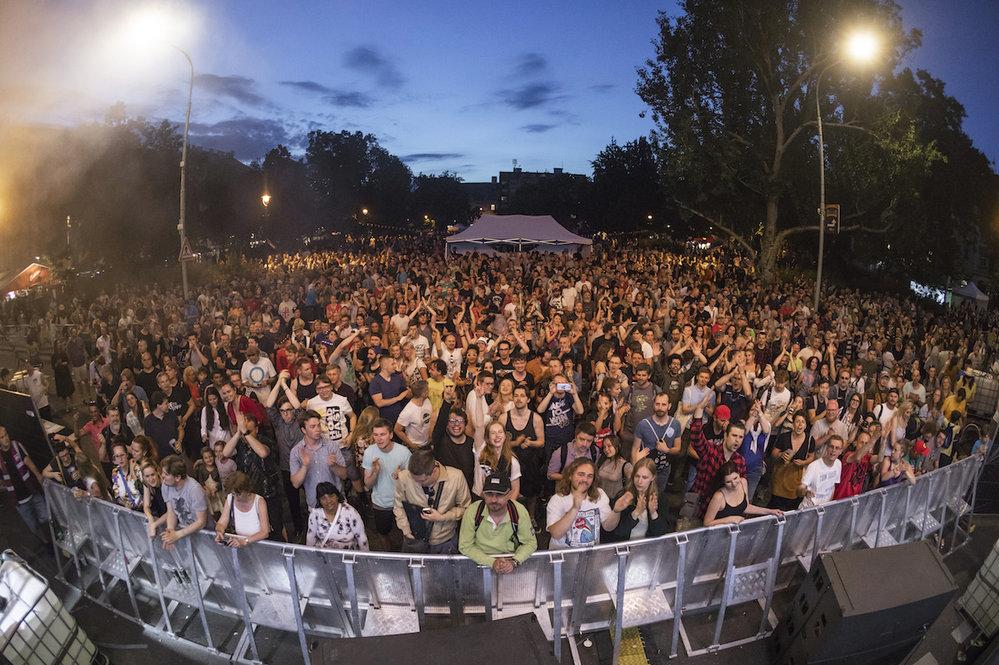 Festival United Islands přilákal do pražského Karlína davy fanoušků.