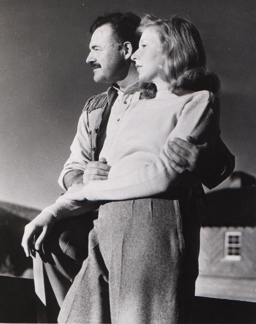 Martha Ellis Gellhornová a Ernest Hemingway v roce 1940.