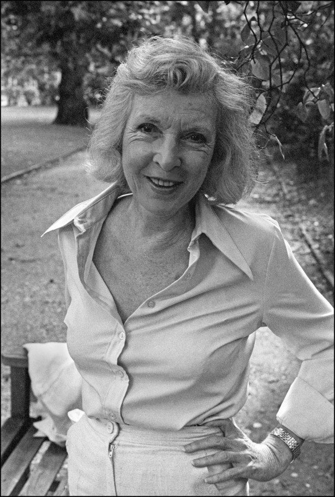 Martha Ellis Gellhornová v roce 1977.