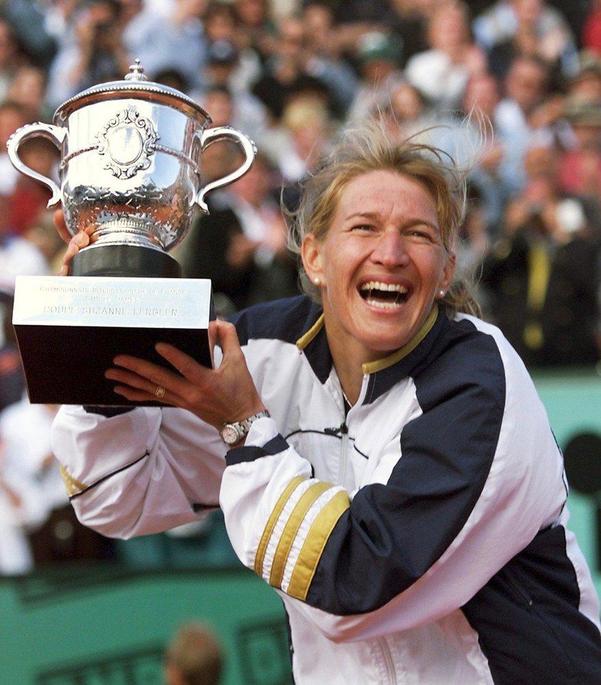 Legendární německá tenistka Steffi Grafová.