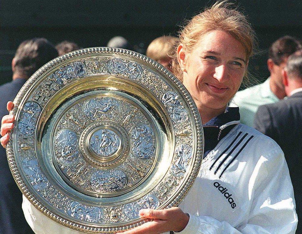 Legendární německá tenistka Steffi Grafová, manželka slavného šampiona