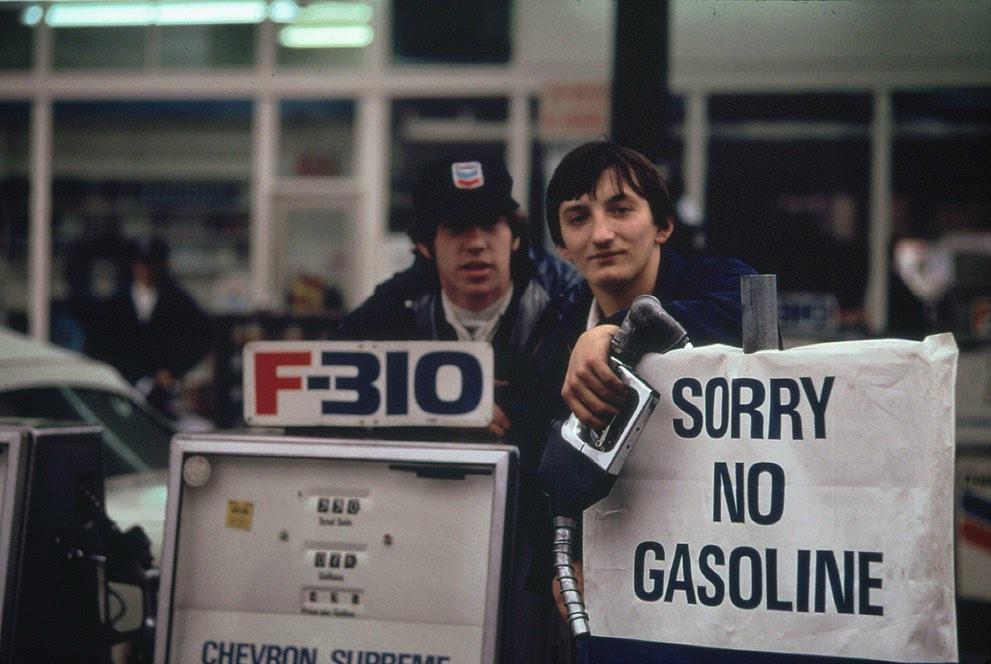 Žádný benzín (listopad, 1973).
