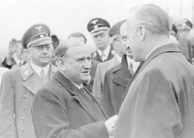 Édouard Daladier a Joachim von Ribbentrop