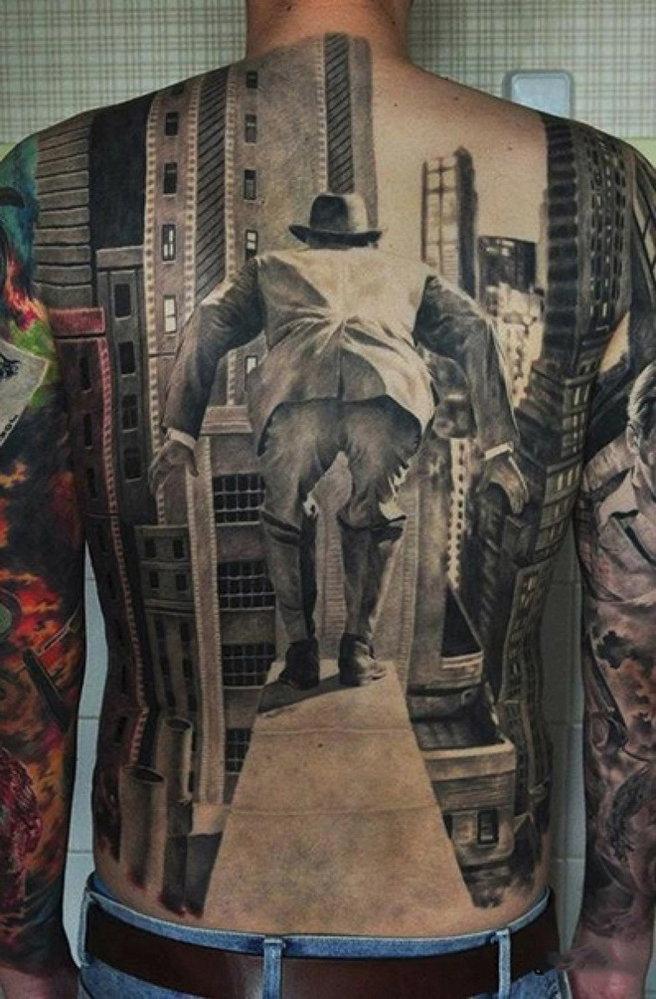 Tetováním můžete dosáhnout neuvěřitelných optických iluzí přímo na svém těle
