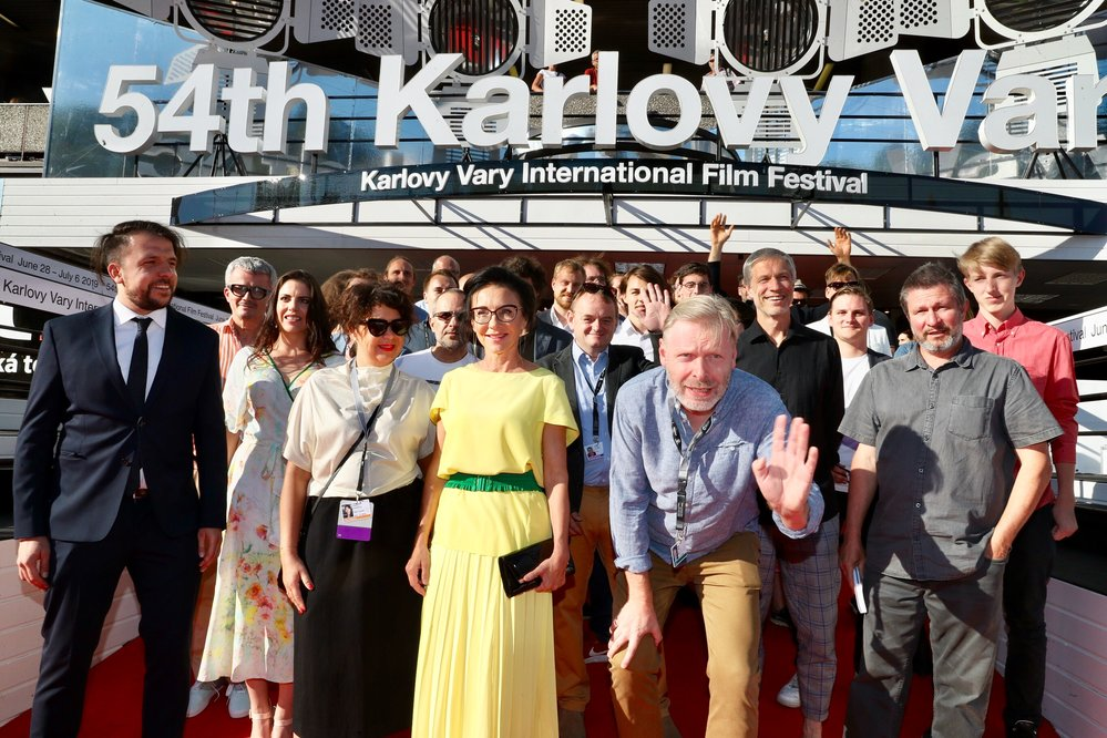 Z premiéry filmu Reflexu Moje svoboda na karlovarském filmovém festivalu