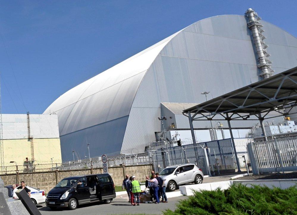 Černobylská elektrárna má nový ochranný kryt