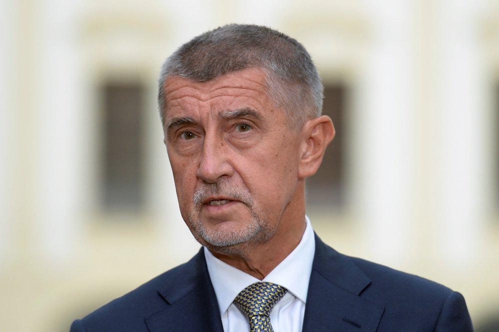 Premiér Andrej Babiš (ANO) po schůzce na Hradě (11. 7. 2019)