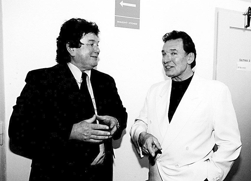 Pavel Novák a Karel Gott