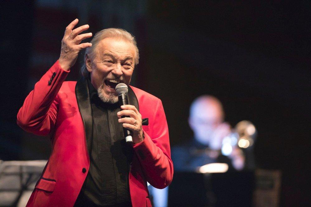 Karel Gott na koncertě v Příbrami