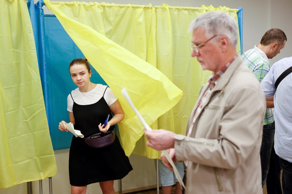 Parlamentní volby na Ukrajině.