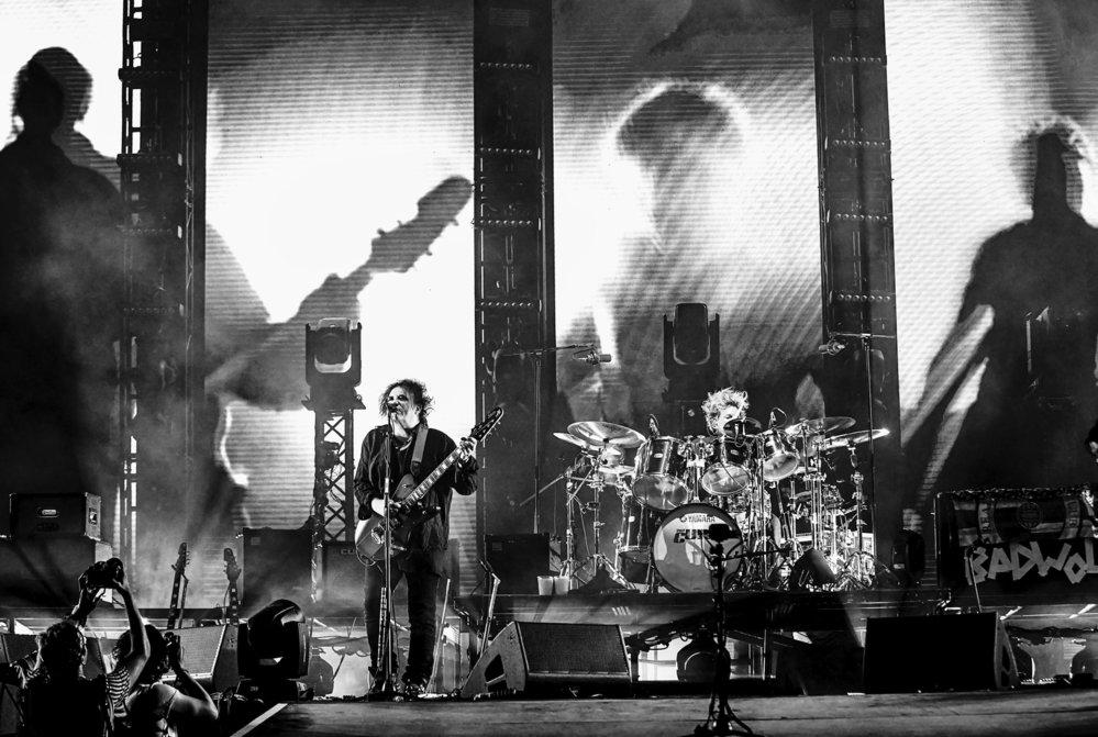 The Cure na festivalu Colours of Ostrava 2019.