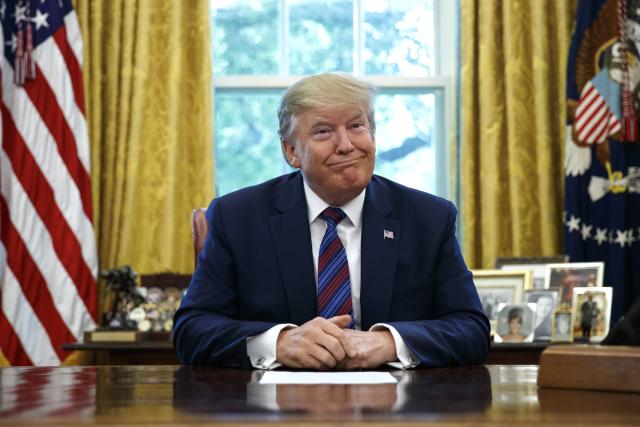 Prezident Donald Trump bude favorit prezidentských voleb v roce 2020