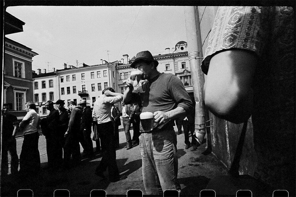 Nalezené snímky Máši Ivašincové ukazují život v Petrohradě v dobách SSSR.