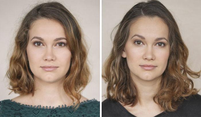 Litevka fotografovala ženy před a po prvním dítěti