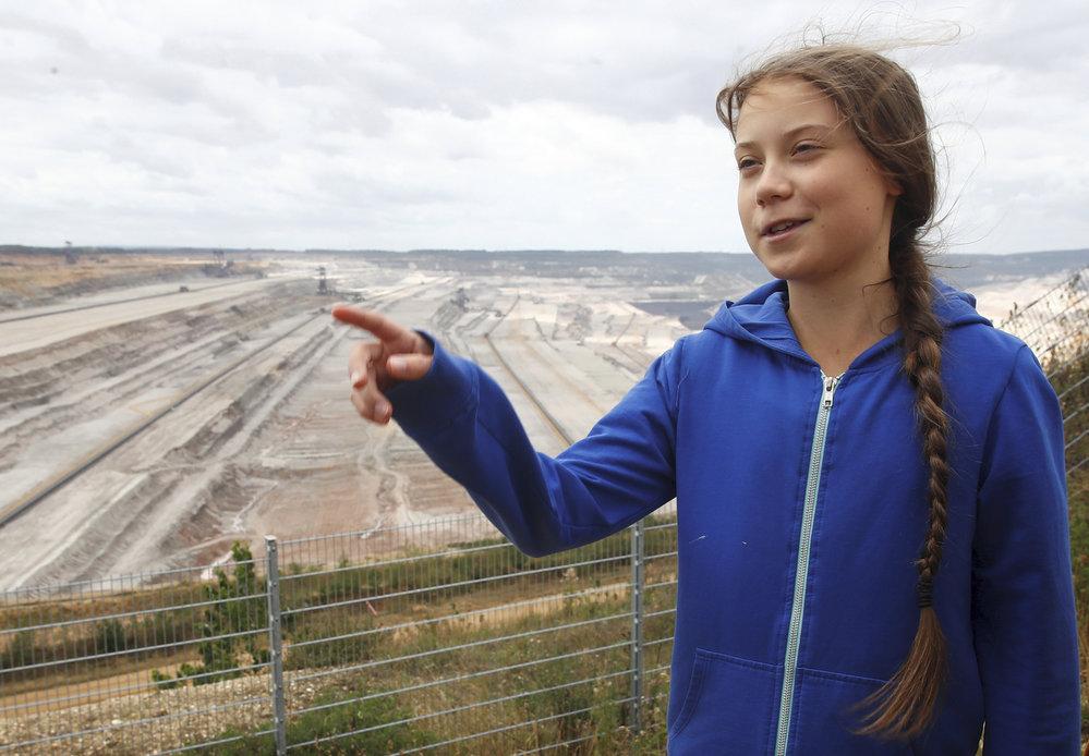 Švédská environmentální aktivistka Greta Thunbergová.