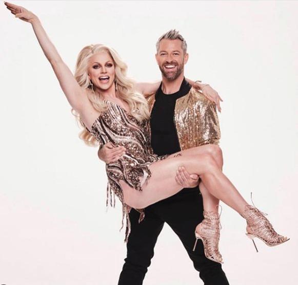 Tanečník Josh Keefe a transvestita Courtney Act.