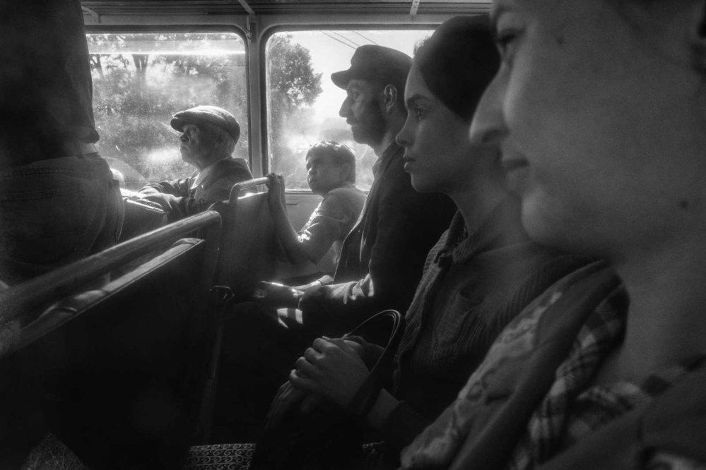 Snímky z natáčení filmu Nabarvené ptáče