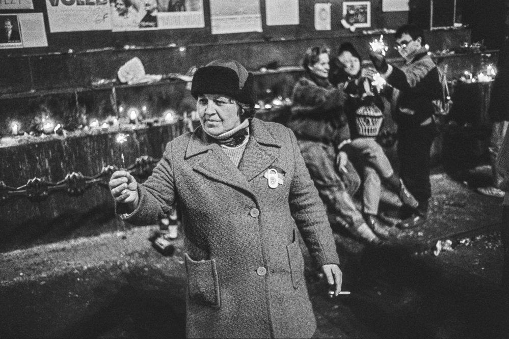 Revoluční rok 1989 na fotografiích Jana Šibíka