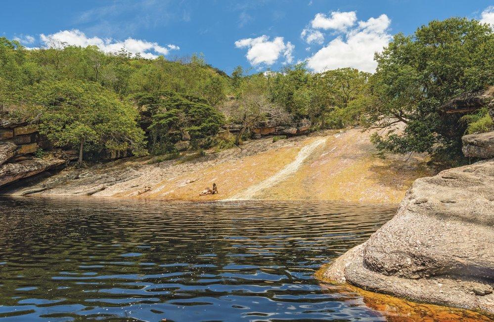 Pojďte se klouzat napřírodní skluzavce! Voda má příjemných 26 stupňů!