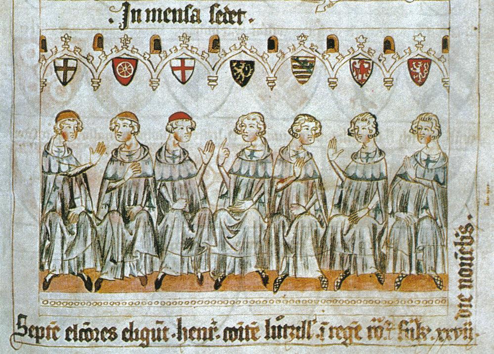 Kurfiřti v roce 1341.